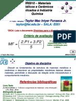 MR6910 192 MQ00 001-003 Plano de Ensino
