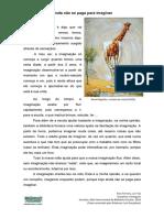 Outubro Mês da Biblioteca Escolar - Imaginação, Por Ema Ferreira