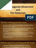 The Propaganda Movement and the Katipunan