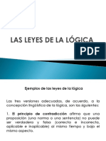 7. Las Leyes de La Lógica