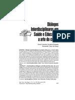 Fazenda. dialógos interdisciplinares entre saúde e educação - a arte do cuidar.pdf