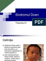 Sindromul Down Trisomia 21
