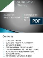 Keynesian Theory of economic Development