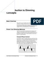 Dimming Technologies