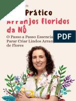 Guia Prático Arranjos Floridos Da Nô E Book