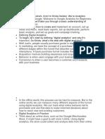 Introduction Digital Analytics 1.1