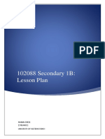 lesson plan assessment 1
