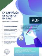 Captación de Adultos en SAAC