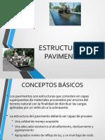 Estructura de Pavimentos