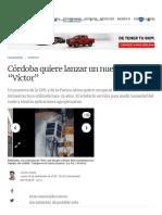 """Córdoba Quiere Lanzar Un Nuevo Satélite """"Víctor"""" _ La Voz"""