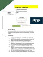 Contoh Pengisian Analisis Jabatan (Anjab) Guru Mapel Matematika
