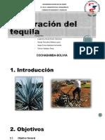 elaboracion del tequila