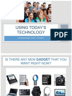 Todays Technology