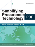Simplifying Procurement Technology