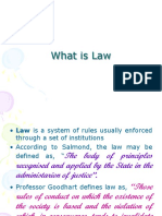 Part II What is Law.ppt