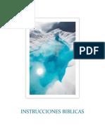 INSTRUCCIONES BIBLICAS