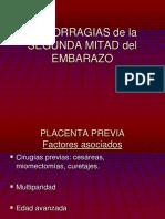HEMORRAGIAS+de+la+SEGUNDA+MITAD+del+EMBARAZO