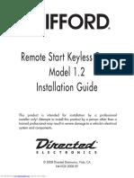 Remote keyless manual
