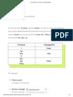 Uso de Have y Has - Nivel A2 - GCFGlobal Idiomas