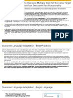 SAP Business ByDesign Introduction to Customer Language Adaptation Version April2017 Part3