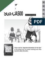 Sgx-ca500 Eu PDF Manual