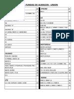 LISTA DE FUNDAS DE ALMACEN- UNION IMPRIMIR 21-08-1.docx