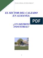 El Sector Del Calzado en Almansa