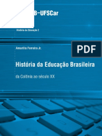 Historia da Educacao Brasileira