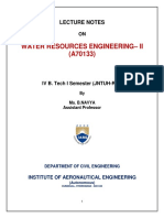 Wre-II Lecture Notes