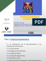 Tema 4. Las Técnicas Documentales (1)