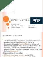 Hemofilia Pada Anak
