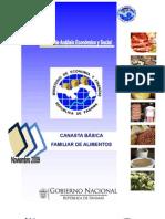 canasta básica familiar de Panamá(octubre 2009)