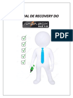 Tutorial de Recovery Do Nazabox Nz10_ v1.0 Em PDF
