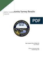2019 Community Survey Report