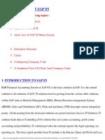 Introduction to SAP FI
