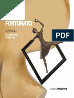 Catálogo da 21.ª exposição da Galeria d'Arte Ortopóvoa, ESCULTURAS e PROCURAS de Helena Fortunato