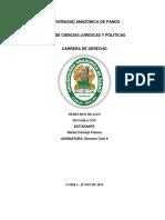 Prenda en Bolivia de acuerdo al código civil