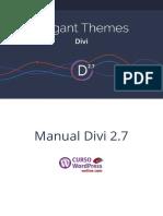 Manual Divi2.7