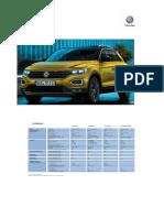 VW TRoc 2018-Tecn