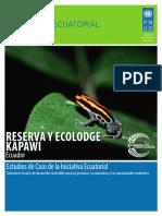 kapawi reserva y ecolodge