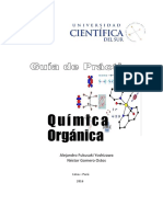 Guía de Práctica Química Orgánica