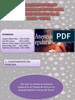 Presentación Obst Epidural