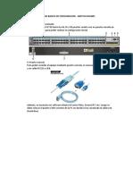 Guia de Configuracion Básica - Switch Huawei v1