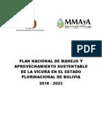 Plan Nacional Manejo Vicuña 2018 - 2023 (1)