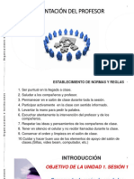 Diapositivas Unidad 1 Sesion 1 María Victoria