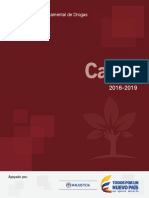 Plan Departamental Drogas Cauca 2016 2019