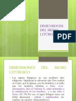 Dimensiones Del Signo Litrugicos