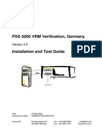 PSS5000-TEGU VRM Verify v2 Install Test 80337601