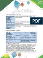 Guía de actividades y rúbrica de evaluación - Paso 4. Relacionar la biodiversidad, los servicios ecosistémicos y las presiones antrópicas.