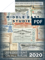Stanford University Press | Middle East Studies 2020 Catalog